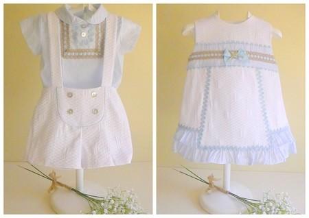 conjuntos bebé niño y niña vestir