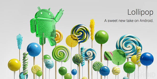 Android Lollipop 1