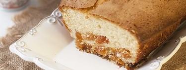 Receta de bizcocho de maizena con orejones sin gluten