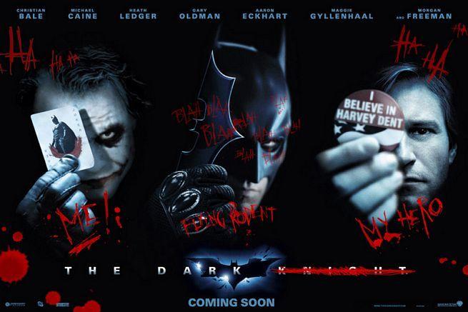 Foto de El Joker pinta 'The Dark Knight' (9/9)