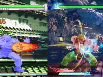 A  Alex le sienta fenomenal Street Fighter V y lo puedes comprobar tú mismo