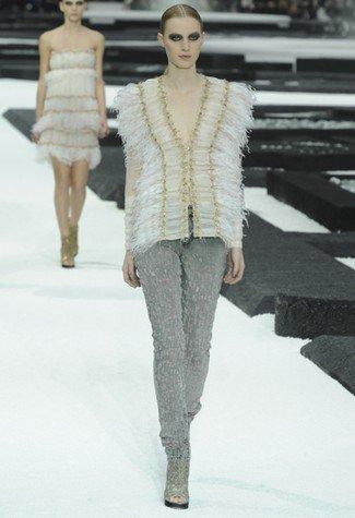 Chanel Primavera-Verano 2011 plumas