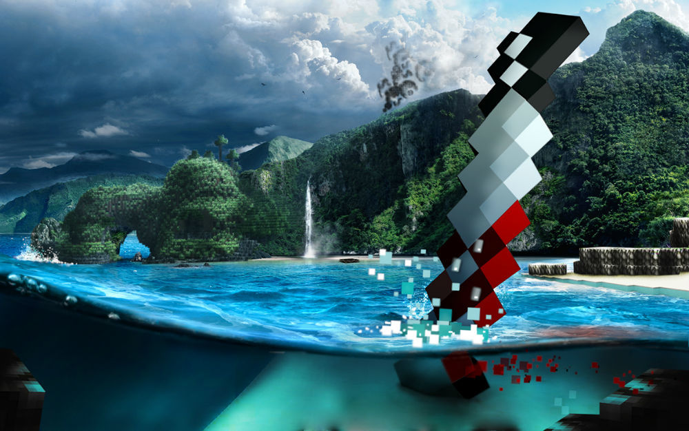 Far Cry 3 en Minecraft - 16/10/2012