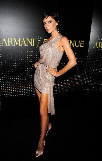 Victoria Beckham defiende a las modelos delgadas