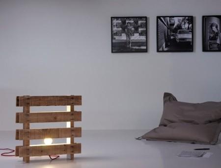 Recicladecoración: lámparas hechas con palés