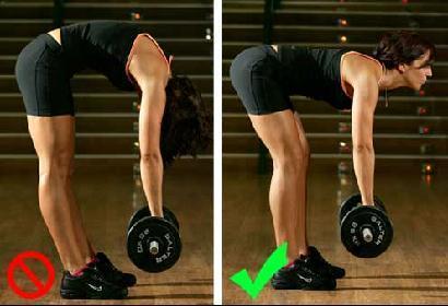 Prevención de lesiones en ejercicios de musculación (II): peso muerto
