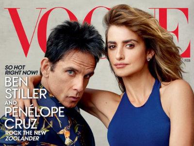 Ben Stiller vestido de Rey Mago portada del Vogue USA junto a nuestra Pe inmortalizados por la Leibovitz