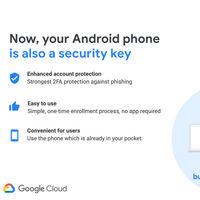 Google permitirá que nuestro smartphone Android sirva como llave de seguridad física para proteger nuestros inicios de sesión