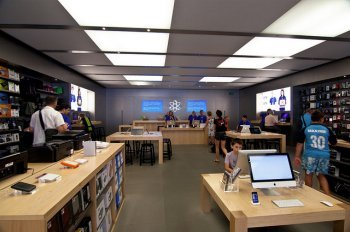 Interior de la Apple Store