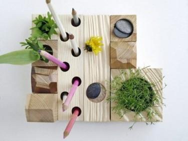 Hazlo tú mismo: un pequeño 'jardín zen' en tu mesa de trabajo