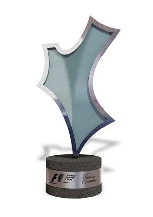 Trofeo marca vencedora Gran Premio de Europa