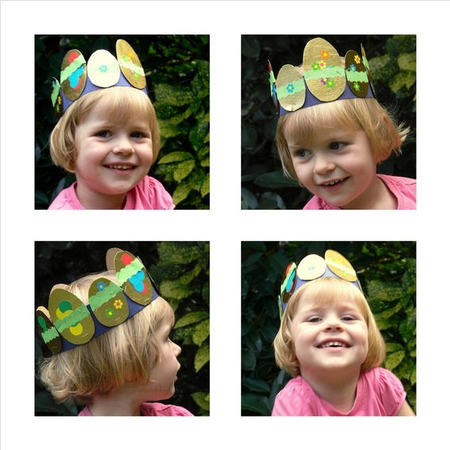 Empieza la cuenta atrás para la Pascua: haz tu mismo una corona con huevos para niños pequeños