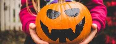17 originales ideas para decorar calabazas de Halloween con los más pequeños