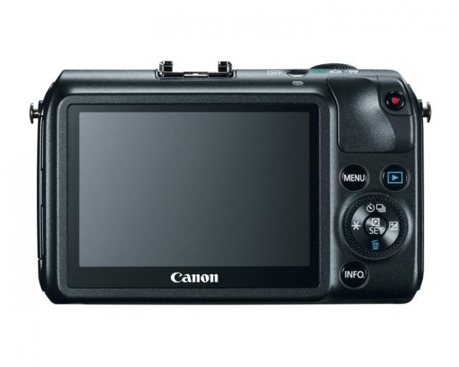 Canon EOS M Vista posterior