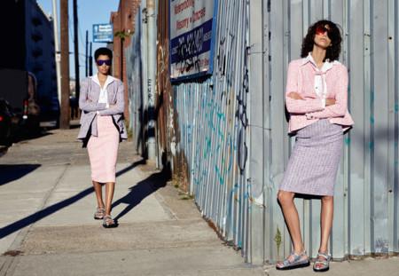 Chanel Campana Primavera Verano 2016 Lineisy Montero Mica Arganaraz 2