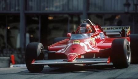 Villeneuve Monaco F1 1981
