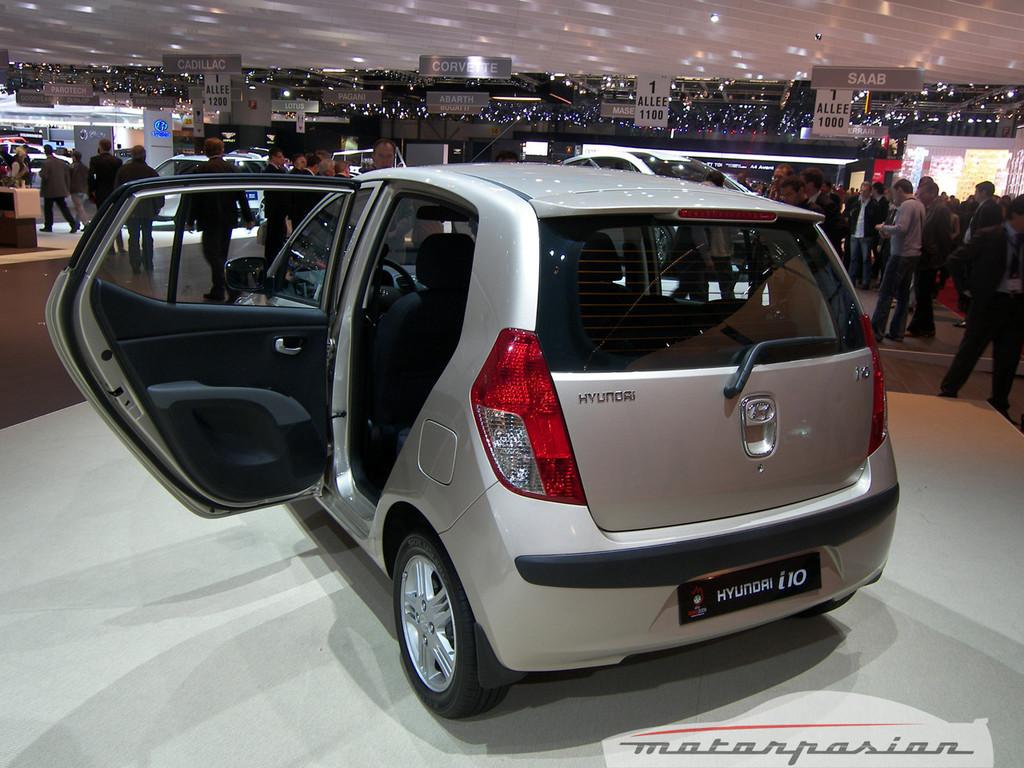 Foto de Hyundai i10 en el Salón de Ginebra (1/6)
