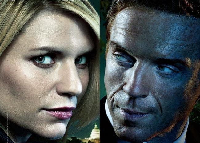 Imagen de Claire Danes y Damian Lewis en 'Homeland'