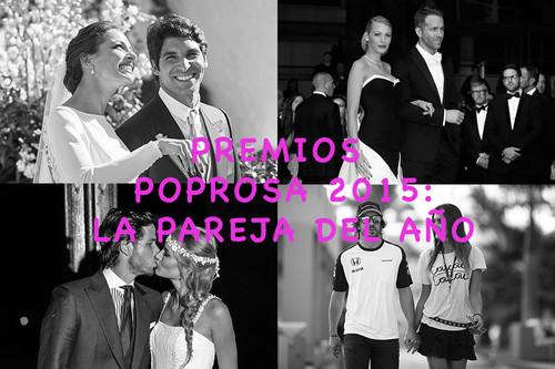 Premios Poprosa 2015: elijamos a la pareja del año