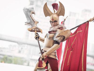 Los mejores cosplays del mundo de Dota 2 volumen 1: héroes y heroínas de fuerza