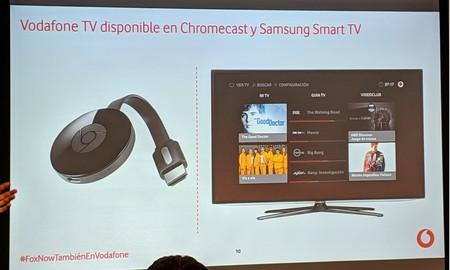 Vodafone TV disponible en nuevos dispositivos