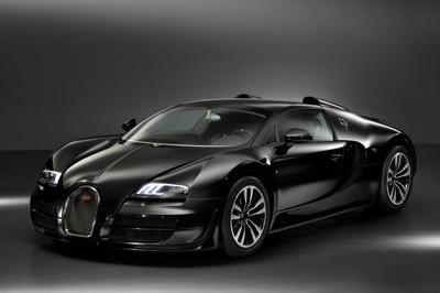 Desvelado el segundo Bugatti Veyron Legend, homenaje a Jean Bugatti y La Voiture Noire
