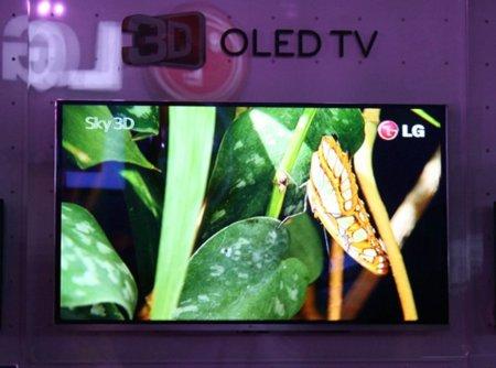 LG y su televisor 3D-OLED de 31 pulgadas, aparecerá en 2011
