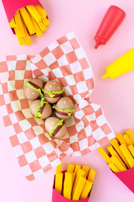 Huevos De Pascua Hamburguesas