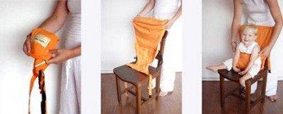 Sack'n Seat, mantén a tu bebé seguro en la silla