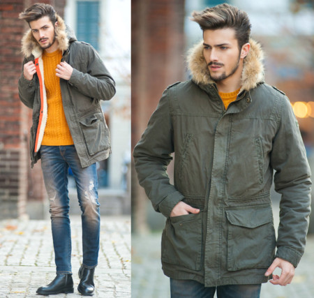El faux fur más cool de la temporada se lleva en las capuchas este invierno