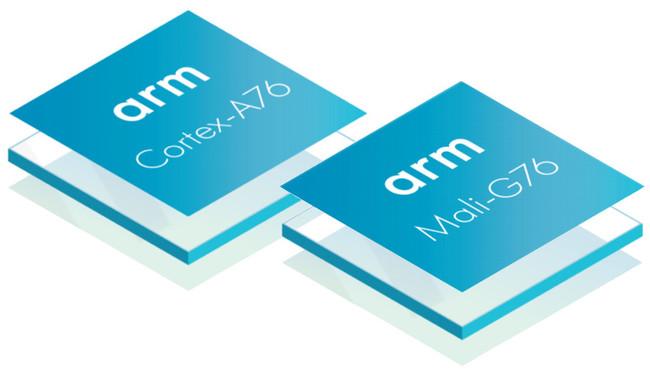 Cortex A76 Mali G76 Arm