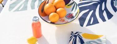 Los manteles y las vajillas más bonitas para triunfar con tus mesas de verano los tienes en Amazon y Maisons du Monde