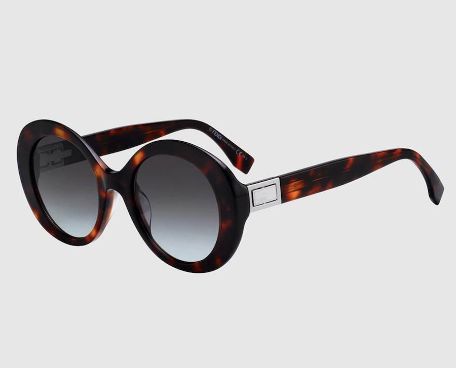 Gafas de sol de mujer en acetato habana vintage
