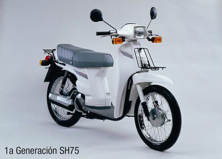 Honda SH 75, primera generación