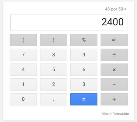 Okgoogle Calculadora