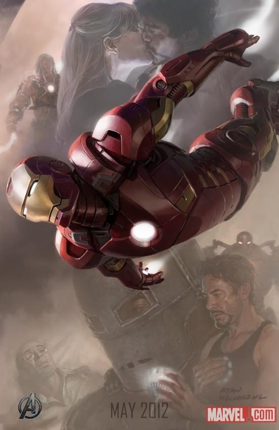 Foto de 'Los Vengadores' ('The Avengers'), teaser póster y dibujos oficiales de los protagonistas (3/9)