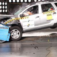 """Con dos airbags, ESC y """"estructura inestable"""", el Renault Duster se lleva 4 estrellas en Latin NCAP"""