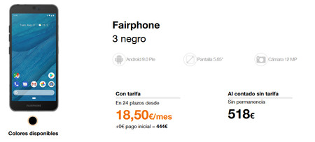 Orange Fairphone