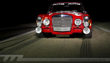 """""""Red Pig, el primer AMG"""": La foto de la semana"""
