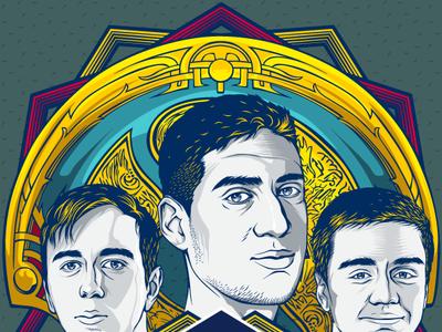 """OG te da alas… El quinteto del """"Dream Green"""" ficha por Red Bull"""
