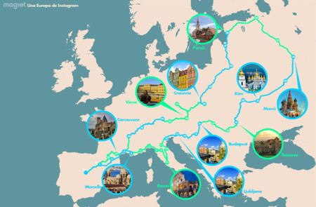 Rutas en coche por europa