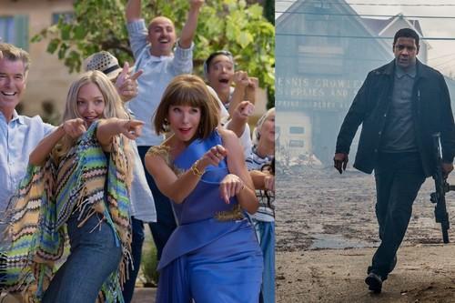 'Mamma Mia' y Denzel Washington conducen a un éxito histórico de las secuelas en taquilla