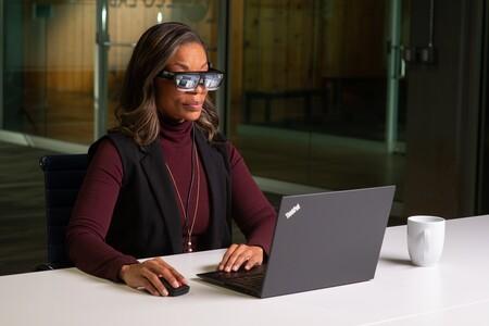 Lenovo quiere que puedas llevar gafas de Realidad Virtual en la oficina sin aislarte: así son las Lenovo ThinkReality A3