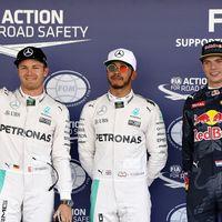 Hamilton planta cara a Rosberg y suma una nueva pole en el GP de México F1