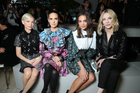 Estas son las celebrities que han volado hasta el aeropuerto JFK de Nueva York para disfrutar del desfile crucero de Louis Vuitton