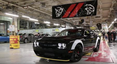 Despídete del demonio, el último Dodge Challenger Demon sale de la línea de producción