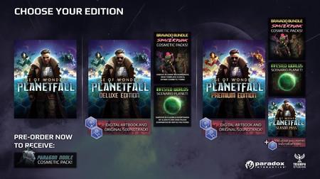 Age of Wonders: Planetfall - Ediciones