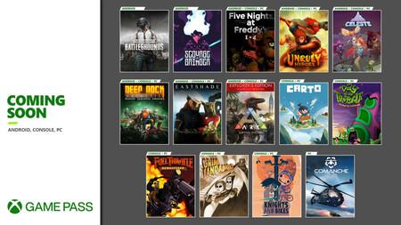 Celeste, PUBG, Deep Rock Galactic y otros 11 juegos más se unirán a Xbox Game Pass