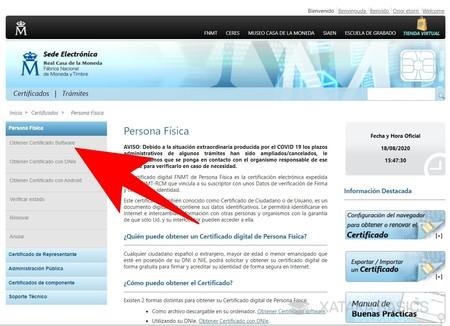 Certificado Software
