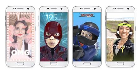 Así puedes probar AR Studio, los efectos de realidad aumentada de Facebook Messenger